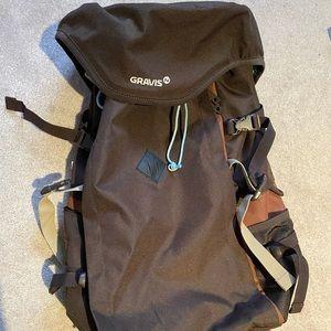 Brown Gravis Backpack